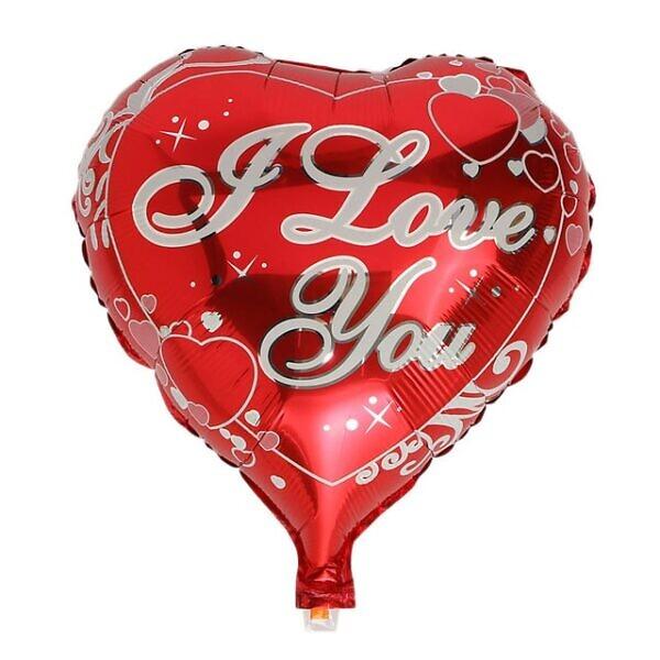 """Фольгированный шарик """"I love you"""""""