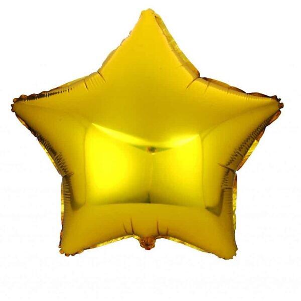 Фольгированный шарик звезда