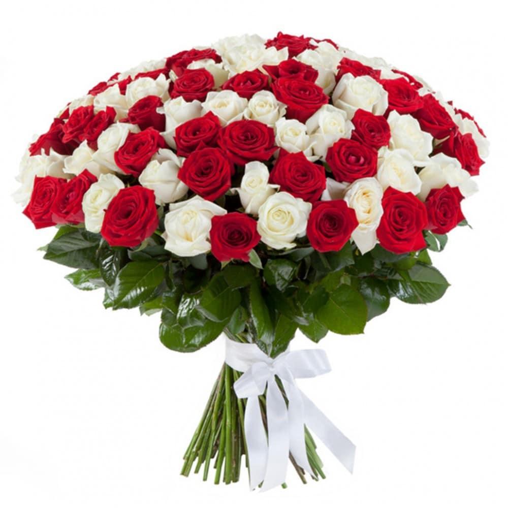 Заказ, букет красный розы