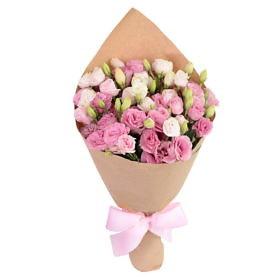 букет розовые облака