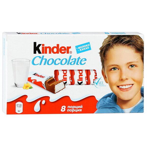 шоколад киндер 100г