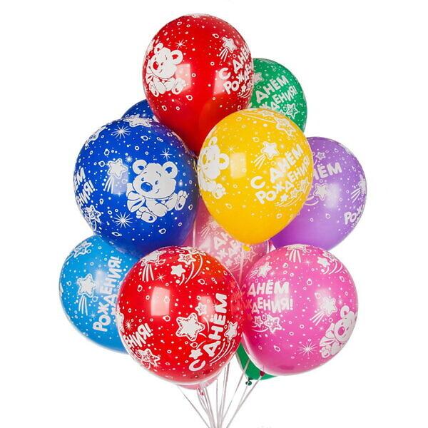 воздушные шары с днём рождения