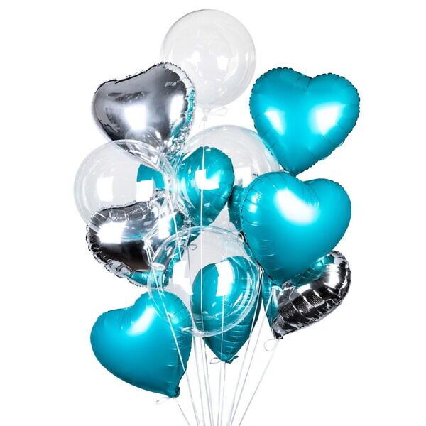 гелиевые шары ледяное сердце