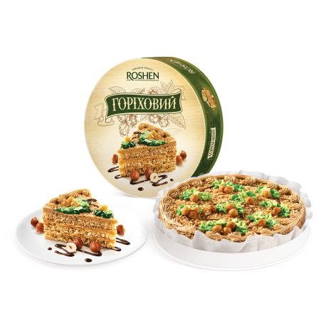 торт ореховый Рошен
