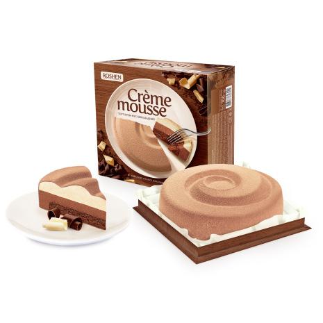 торт Рошен шоколадный крем-мусс