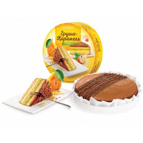 торт Рошен груша-карамель