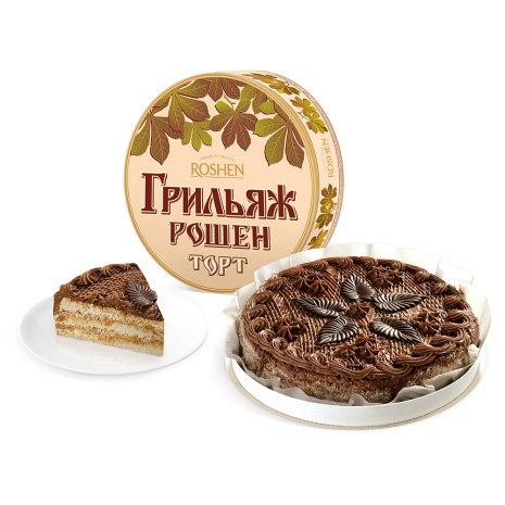 торт Рошен грильяж