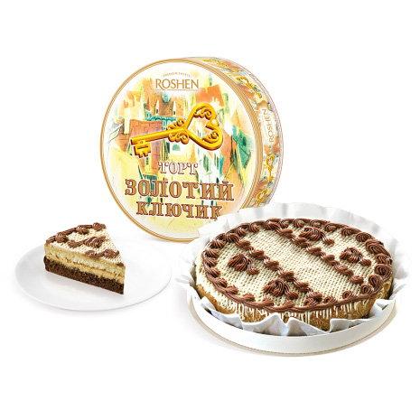 торт Рошен золотой ключик