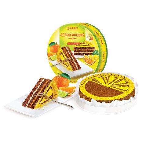 торт Рошен апельсиновый
